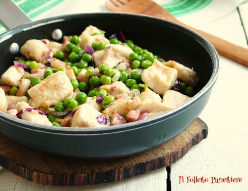 Pollo e piselli – lo spezzatino facile e veloce da preparare