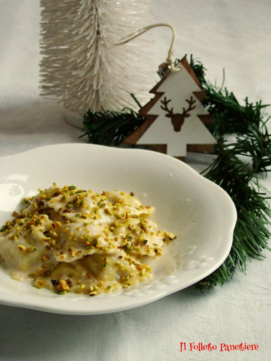 ravioli di magro al mascarpone e gorgonzola