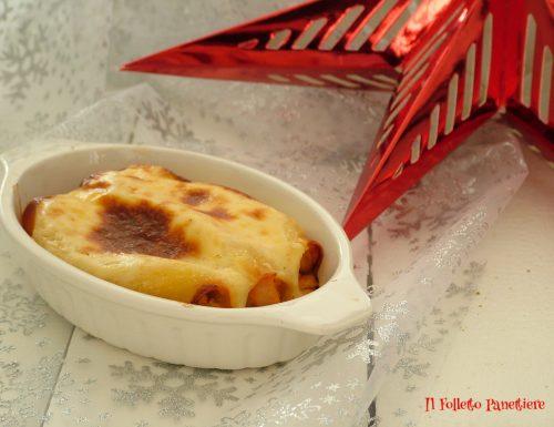 Cannelloni con salmone e gamberi – primo piatto per il cenone di Natale