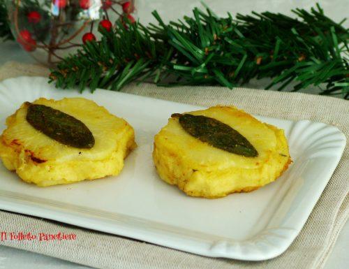 Antipasto vegano per capodanno: fiorellini di sedano rapa con mousse di ceci *