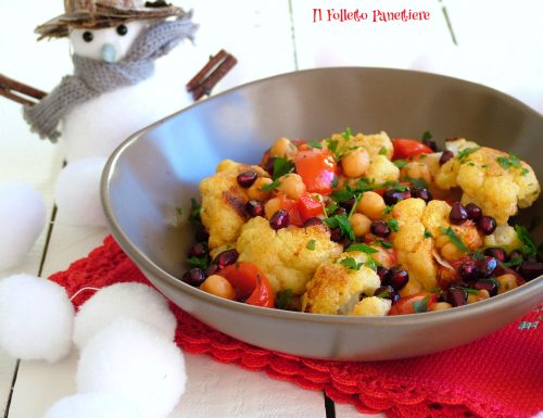 Insalata calda di cavolfiore * – piatto vegan