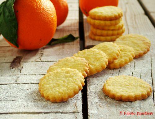 Biscotti profumati all'arancia – ideali con la cioccolata calda