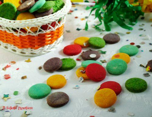 Biscotti coriandoli per Carnevale