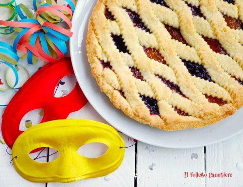 Crostata Arlecchino, dolce per Carnevale