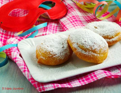 Frittelle di Carnevale con lievito madre