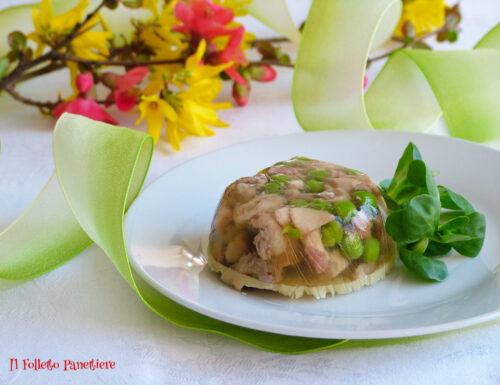 Aspic di coniglio in gelatina – antipasto gustoso e leggero