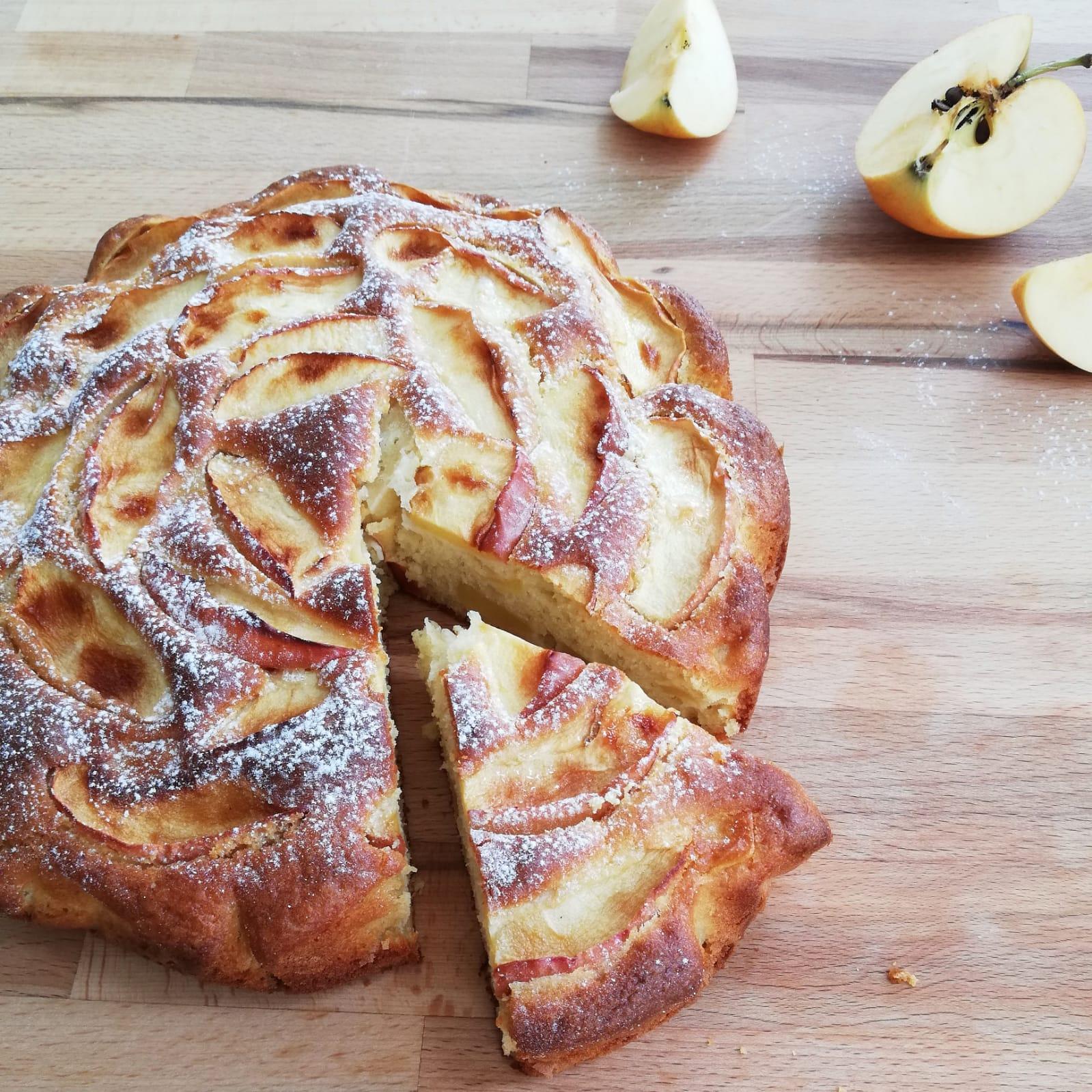 torta di mele risultato