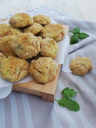 polpette di ricotta e zucchine al forno vert 2