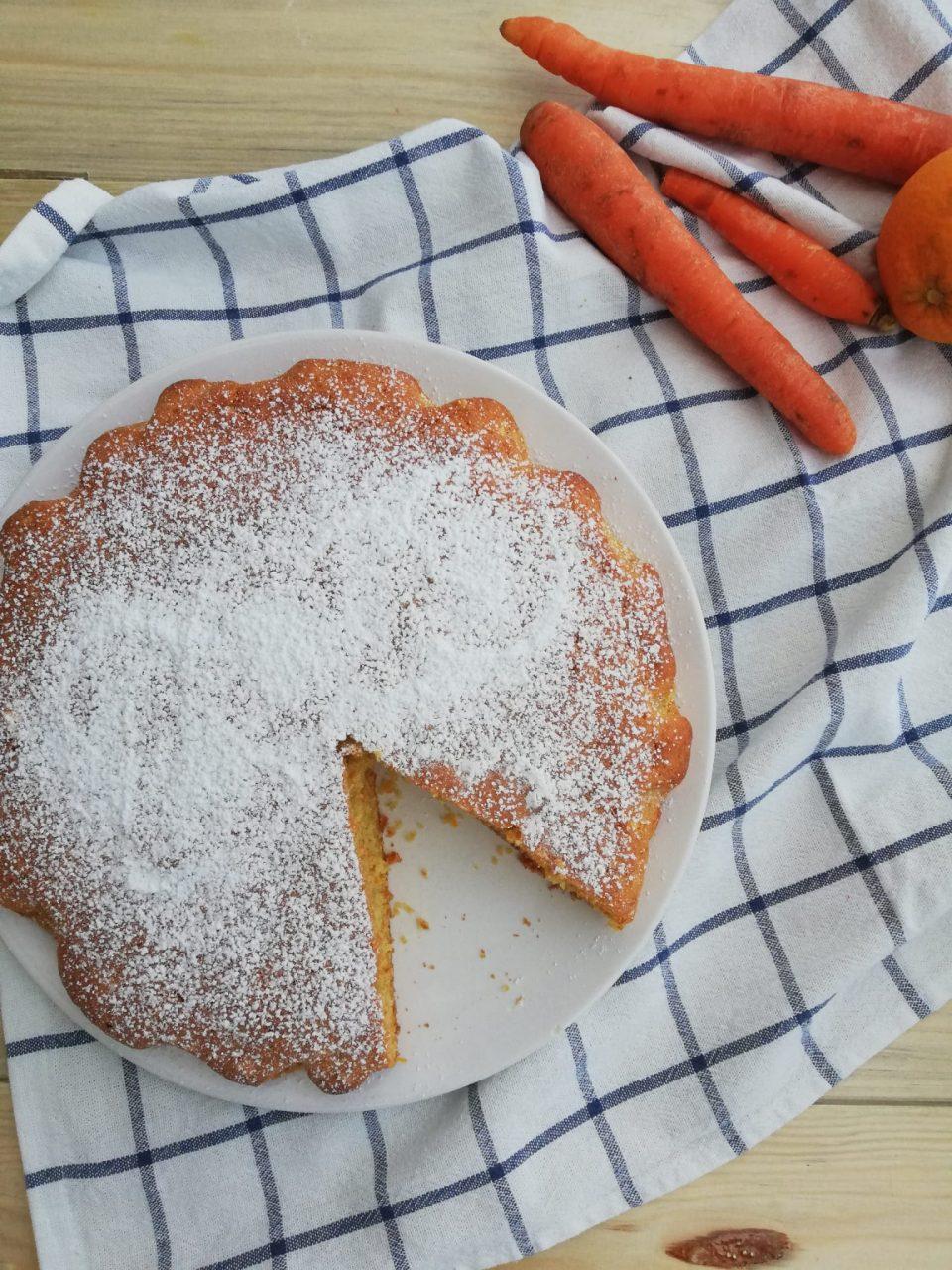 torta di carote senza bilancia vert