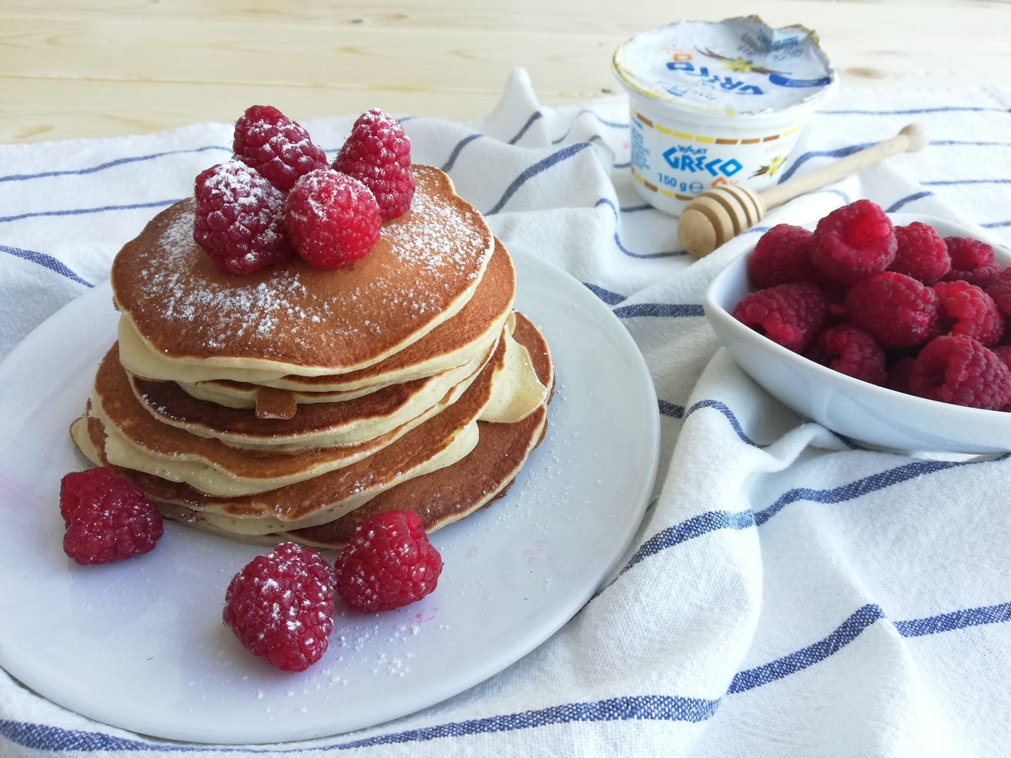 pancakes allo yogurt greco orizz