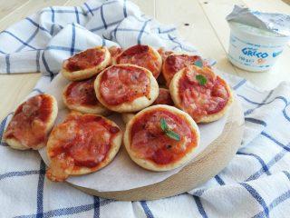 pizzette allo yogurt greco orizz
