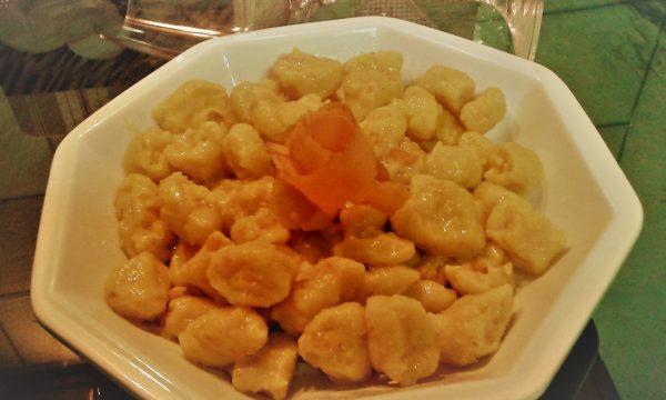 Gnocchi di carote e ricotta