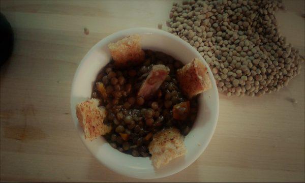Zuppa di lenticchie: le mie lenticchie di Capodanno