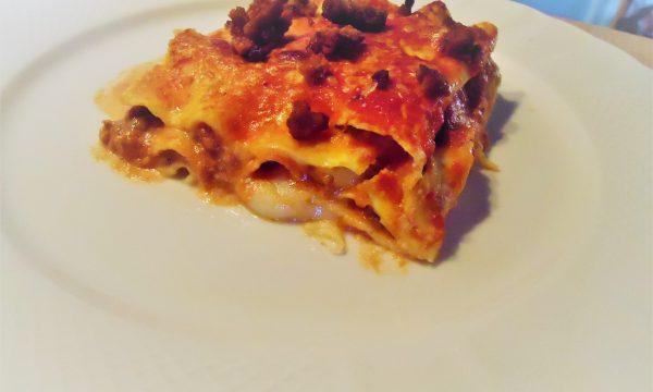 Lasagne al forno al ragù di carne