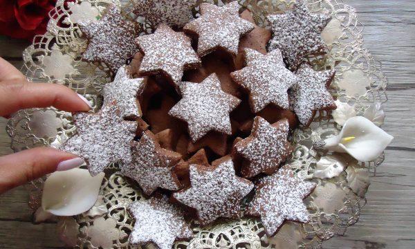Biscotti al cacao fatti in casa senza uova