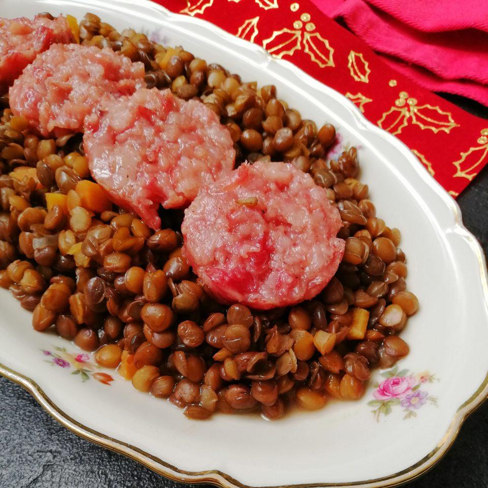 Cotechino e lenticchie ricetta di Capodanno