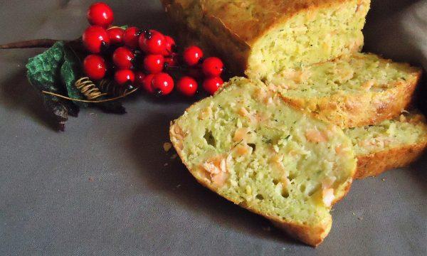 Plumcake salmone e zucchine