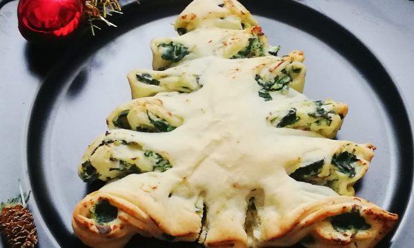 Albero di Natale salato brisè. Ricetta di Natale