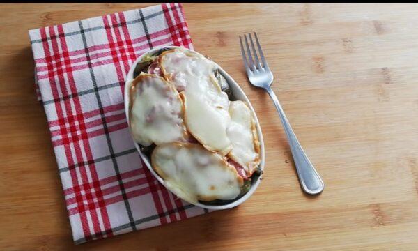 Parmigiana bianca di carciofi