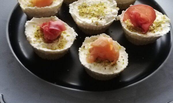 Mini Cheesecake Salmone e Zucchine