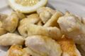 Tocchetti di pollo al limone