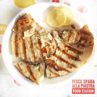 Pesce Spada Grigliato Alla Piastra Secondi Piatti Food Station