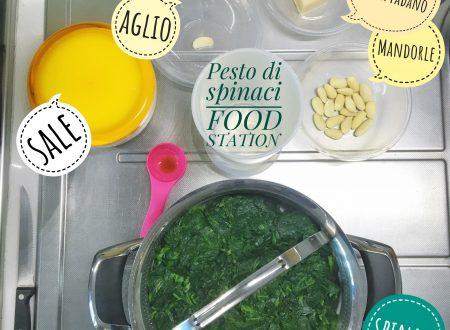 Pesto di spinaci light
