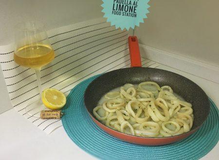 Totani al limone in padella