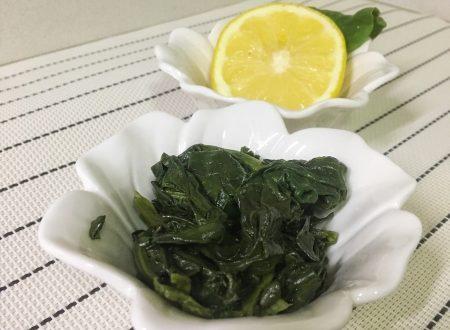 Spinaci al limone