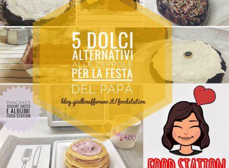 5 dolci alternativi alle zeppole di S. Giuseppe per la festa del papà