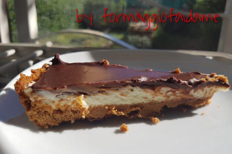 cheesecake mascarpone e cioccolato …. fai da me!