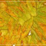 Fiori di zucca ripieni alla Calabrese