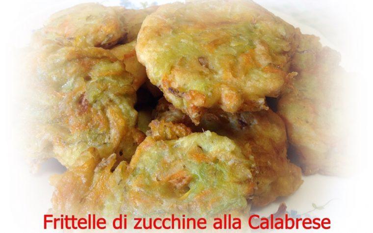 Frittelle di zucchine alla Calabrese