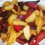 Pipi e patati (ricetta Calabrese)