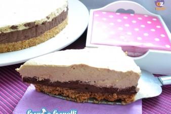 Cheesecake caffè cioccolato