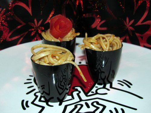 Spaghettine alla 'nduja di Spilinga