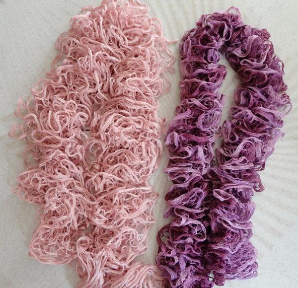 Gomitoli di lana per sciarpe