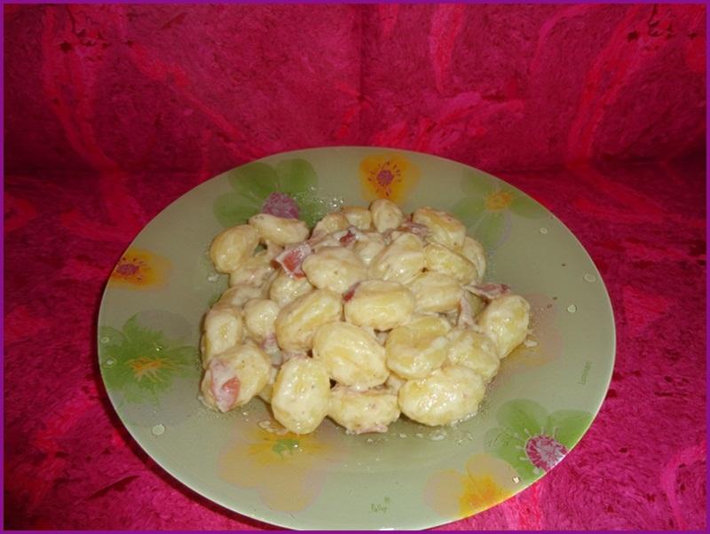 Ricetta Gnocchi Philadelphia Funghi E Speck.Gnocchi Philadelphia Speck