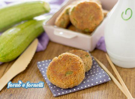 Polpette tonno e zucchine al forno