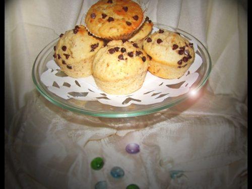 Muffin cioccolato e nocciole per il mio primo blogcompleanno!