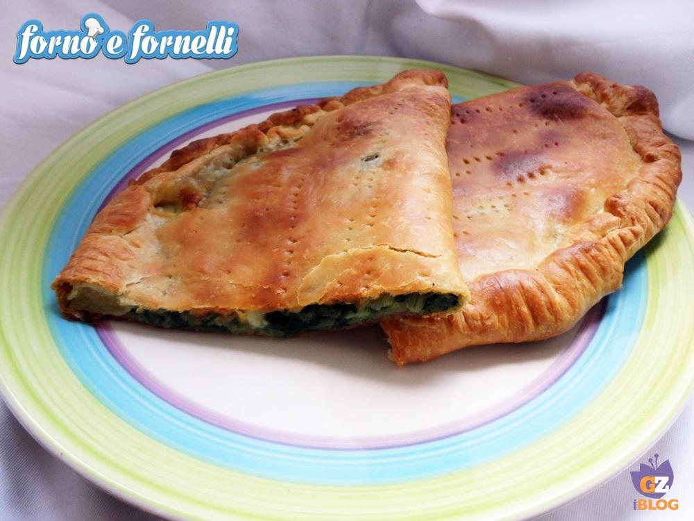 Finto calzone ripieno di bietola, ricetta forno (3)