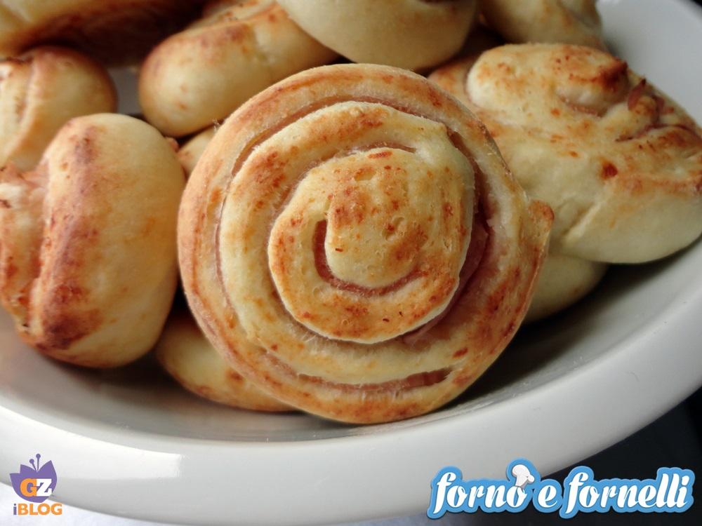 Girelle al prosciutto cotto, ricetta sfiziosa (7)