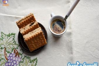 Biscotto gelato al caffè