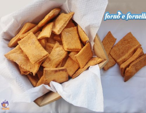 Crackers alla paprika dolce