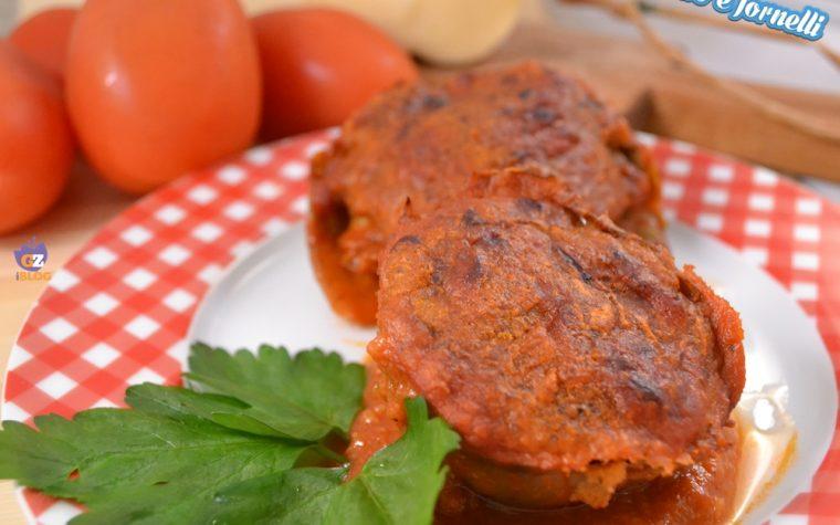 Carciofi ripieni vegetariani