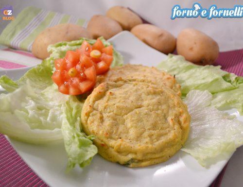 Cotolette di patate al forno