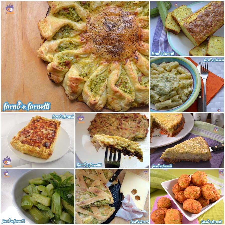Ricette con zucchine forno e fornelli - Cucinare le zucchine in modo dietetico ...