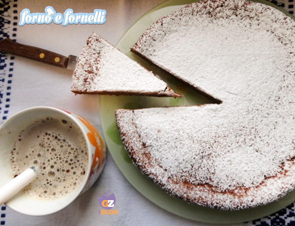 torta soffiata al caffè