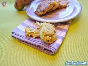Frittelle zucchine patate al forno