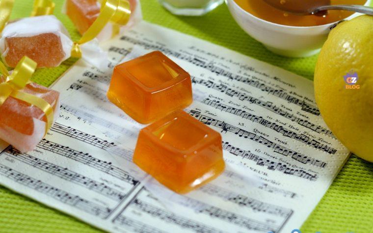 Caramelle miele limone